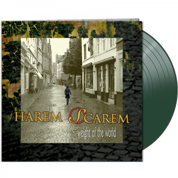 HAREM SCAREM - Weight of the World - LTD Gatefold GREEN Vinyl, 180 Gram