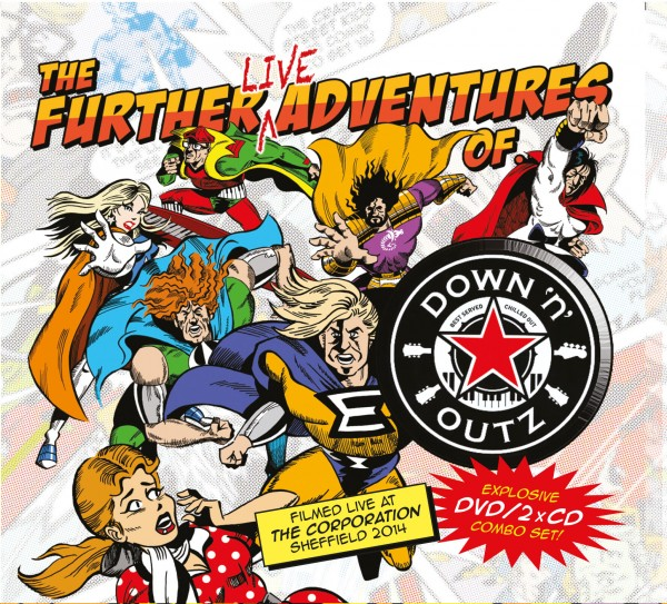 DOWN 'N OUTZ - The Further Live Adventures Of… - 2CD/DVD