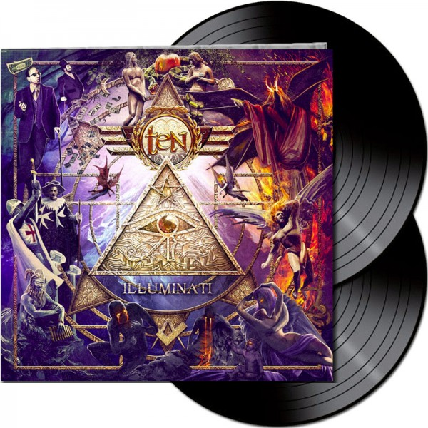 TEN - Illuminati - LTD Gatefold BLACK 2-LP, 180g
