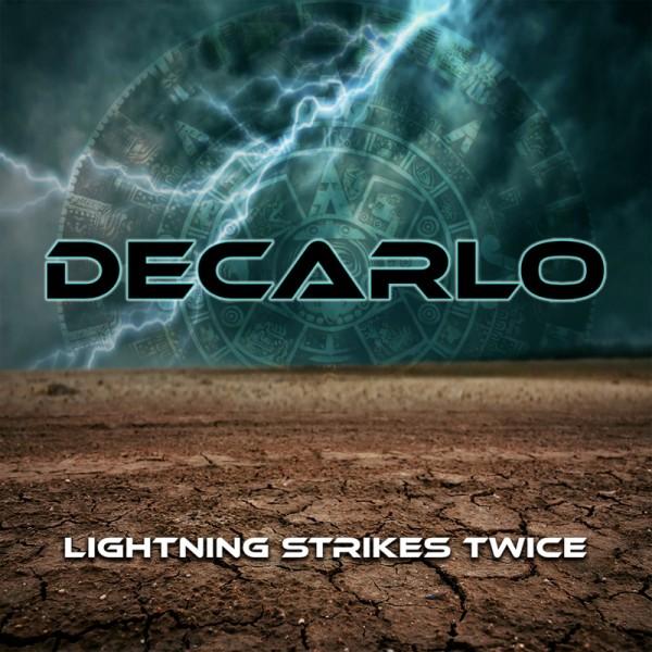 DECARLO - Lightning Strikes Twice - CD Jewelcase