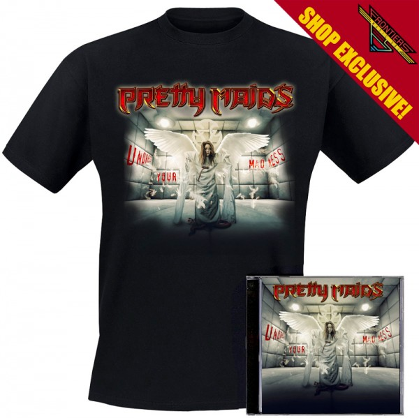 PRETTY MAIDS - Undress Your Madness - Ltd. Bundle: CD + TS-M-XL - Exclusive !