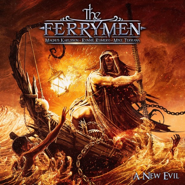 THE FERRYMEN - A New Evil - CD Jewelcase