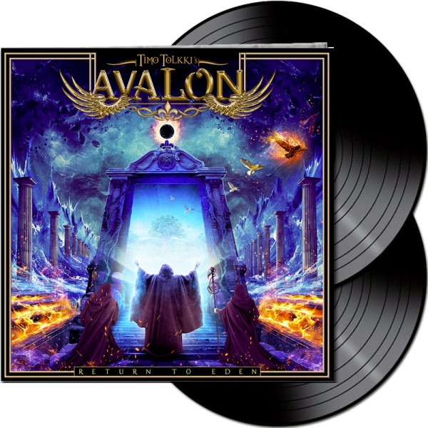 TIMO TOLKKI'S AVALON - Return to Eden - LTD Gatefold BLACK 2-Vinyl, 180 Gram