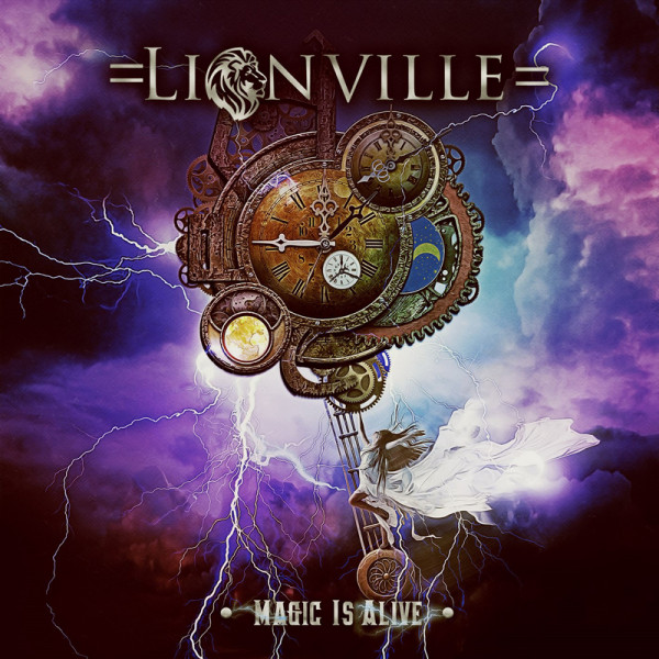 LIONVILLE - Magic Is Alive - CD Jewelcase