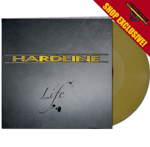 HARDLINE - Life - LTD Gatefold GOLD Vinyl, 180 Gram - Shop Exclusive !