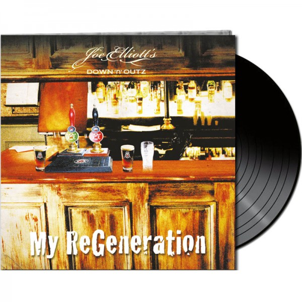 DOWN 'N OUTZ - My Re-Generation - LTD Gatefold Black Vinyl, 180 Gram