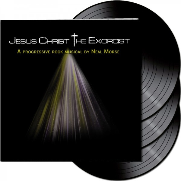 NEAL MORSE - Jesus Christ The Exorcist - LTD Gatefold BLACK 3-LP, 180 Gram