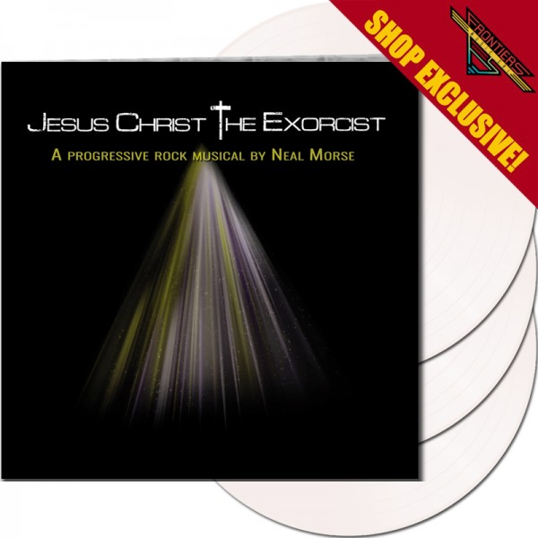NEAL MORSE - Jesus Christ The Exorcist - LTD Gatefold WHITE 3-LP, 180gr - Shop Exclusive !