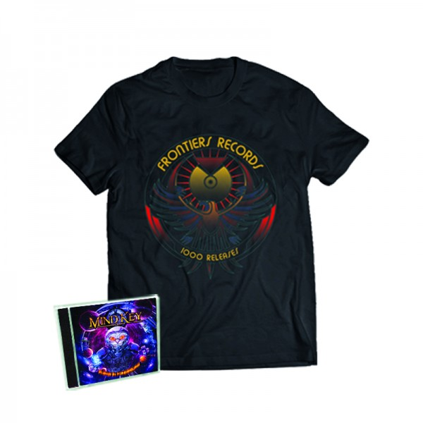 """1000 Releases"" T-Shirt + MIND KEY - MK III - Aliens In Wonderland - CD - Ltd.Bundle TS S-XL"