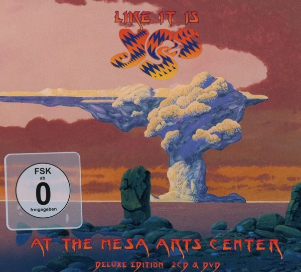 YES - Like It Is-Yes At The Mesa Arts Center - Ltd. Deluxe CD+DVD