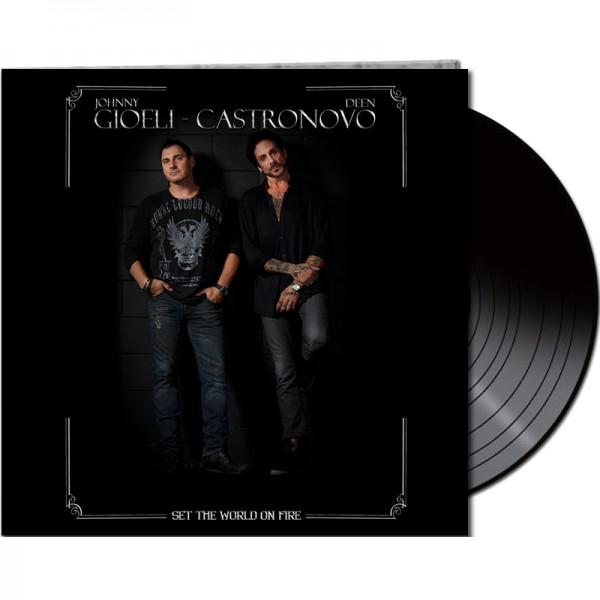 GIOELI-CASTRONOVO - Set The World On Fire - LTD Gatefold Black Vinyl, 180 Gram