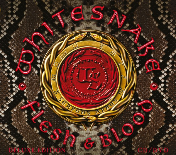 WHITESNAKE - Flesh & Blood - Digipak CD+DVD