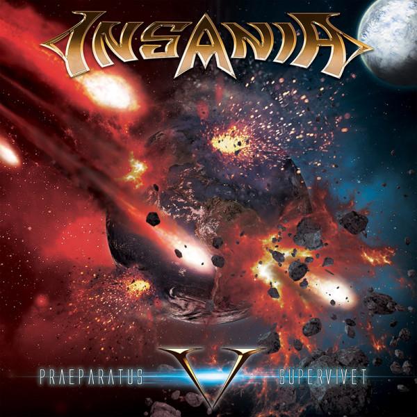 INSANIA - V (Praeparatus Supervivet) - CD Jewelcase