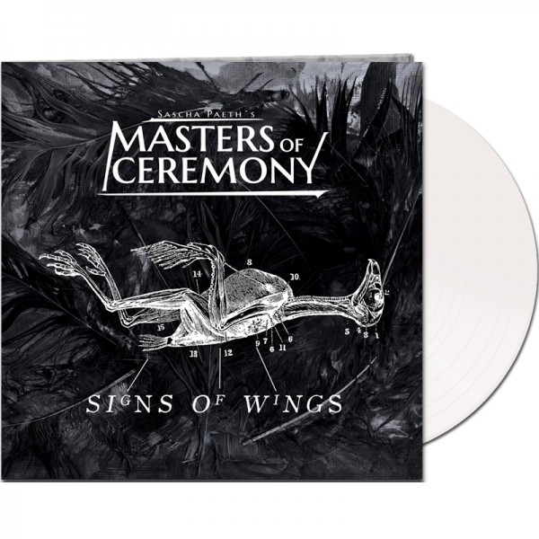 SASCHA PAETH'S MASTERS OF CEREMONY - Signs Of Wings - LTD Gatefold WHITE Vinyl, 180 Gram