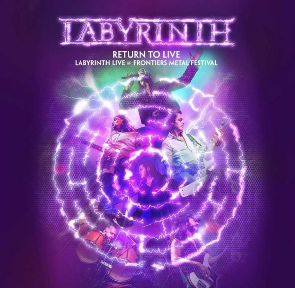 LABYRINTH - Return To Live - CD/DVD Deluxe Edition