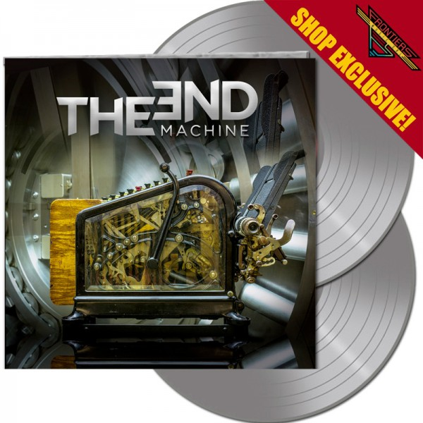THE END: MACHINE - The End Machine - LTD Gatefold SILVER 2-Vinyl, 180 Gram - Shop Exclusive !