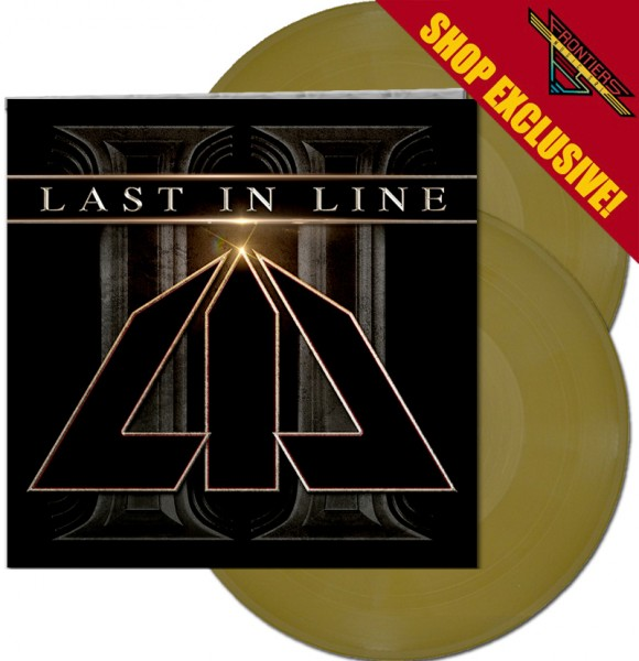 LAST IN LINE - II - LTD Gatefold GOLD COLOR 2-LP, 180 Gram - Shop Exclusive !