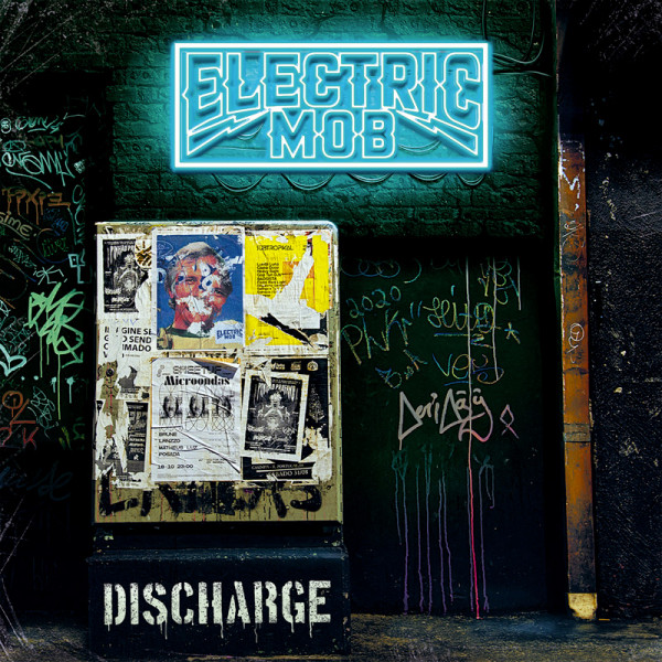 ELECTRIC MOB - Discharge - CD Jewelcase