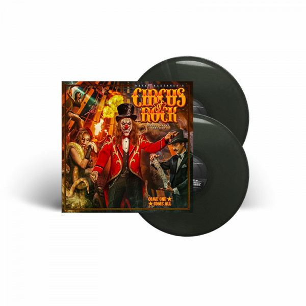 CIRCUS OF ROCK - Come One, Come All - Ltd. Gatefold BLACK 2-LP - Exclusive!