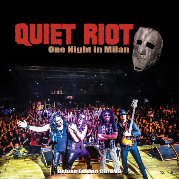 QUIET RIOT - One Night In Milan - CD+DVD Jewelcase