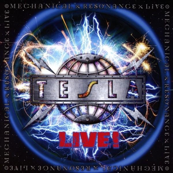 TESLA - Mechanical Resonance Live - CD Jewelcase