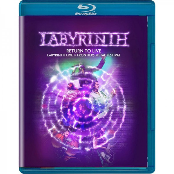 LABYRINTH - Return To Live - BluRay