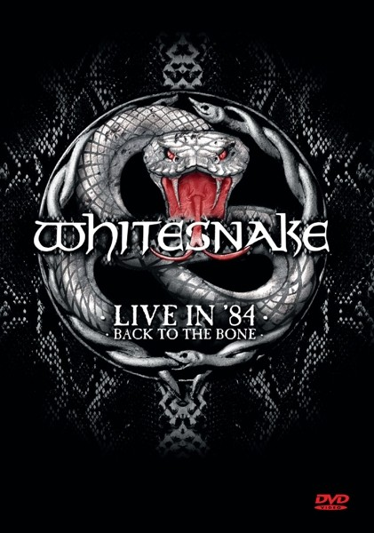 WHITESNAKE - Live In 1984 - Back To The Bone - DVD