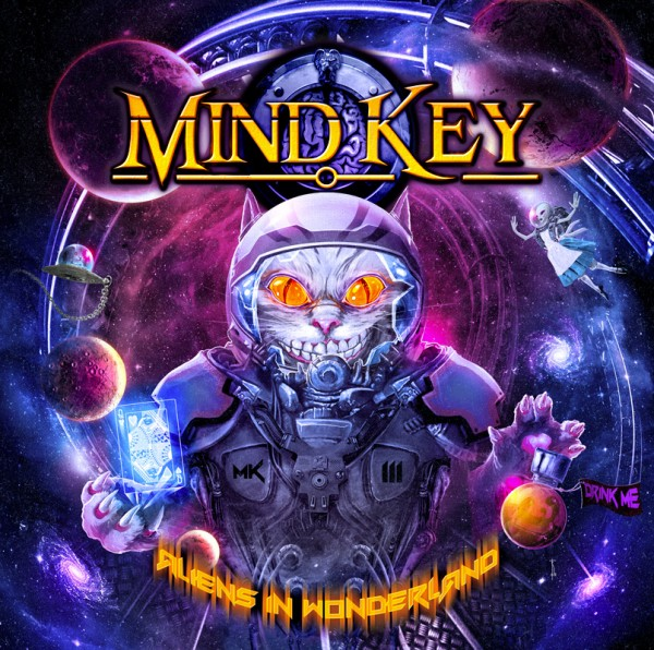 MIND KEY - MK III - Aliens In Wonderland - CD Jewelcase