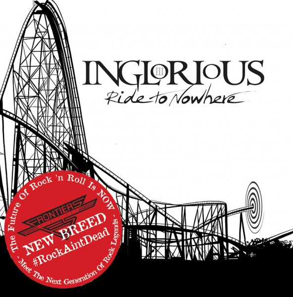 INGLORIOUS - Ride to Nowhere - Ltd.Boxset - CD+T-Shirt (size L) *NEW BREED*