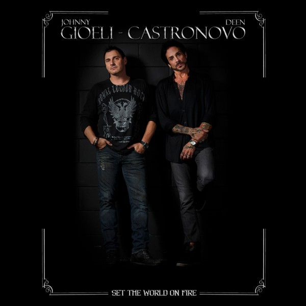 GIOELI-CASTRONOVO - Set The World On Fire - CD Jewelcase