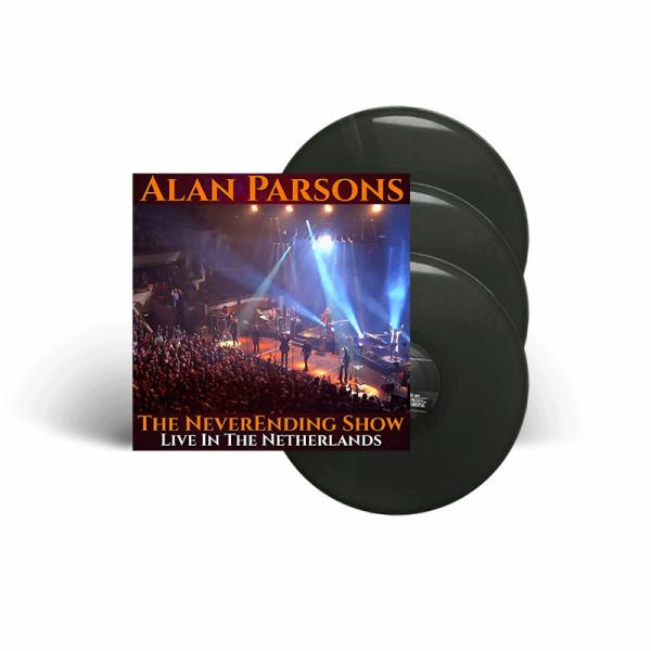 ALAN PARSONS - The NeverEnding Show: Live In The Netherlands - Ltd. Gatefold BLACK 3-LP