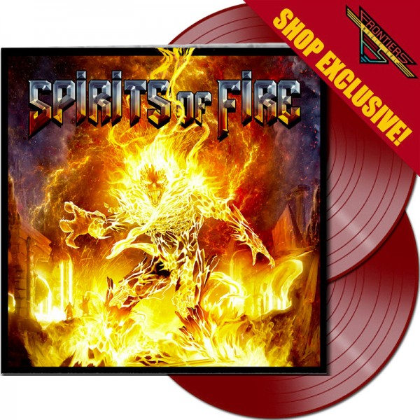 SPIRITS OF FIRE - Spirits of Fire - LTD Gatefold RED 2-LP, 180 Gram - Shop Exclusive !