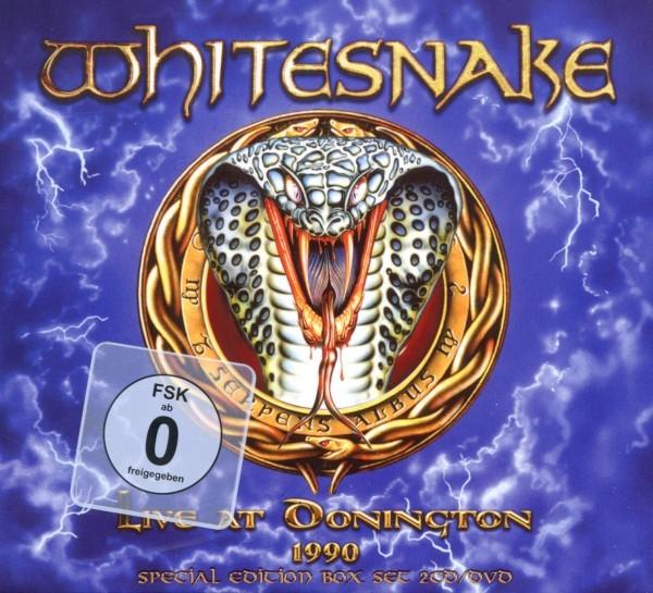 Whitesnake - Live At Donington 1990 (2CD+DVD Special Edition Di