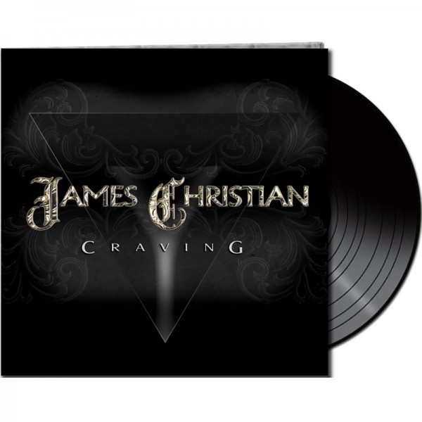 JAMES CHRISTIAN - Craving - LTD Gatefold Black Vinyl, 180 Gram