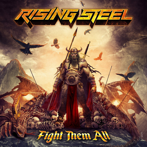 RISING STEEL - Fight Them All - CD Jewelcase