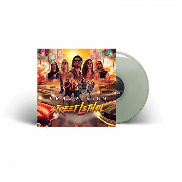 CRAZY LIXX - Street Lethal - Ltd. Gatefold YELLOW LP - Exclusive!