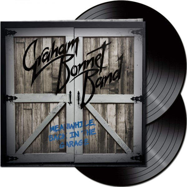 GRAHAM BONNET BAND - Meanwhile, Back In The Garage - LTD Gatefold Black 2-LP, 180g