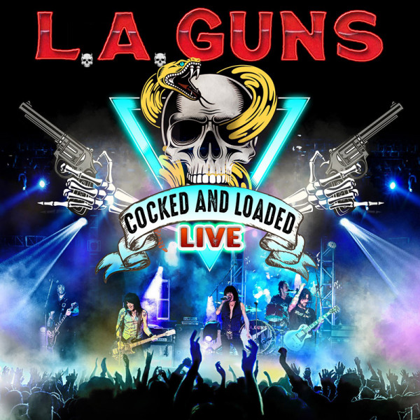 L.A. GUNS - Cocked & Loaded Live - CD Jewelcase