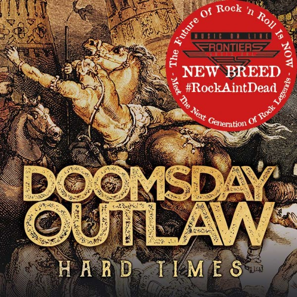 DOOMSDAY OUTLAW - Hard Times - CD Jewelcase *NEW BREED*