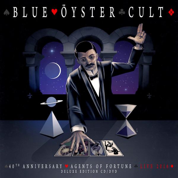 BLUE ÖYSTER CULT - 40th Anniversary - Agents Of Fortune - Live 2016 - CD+DVD Jewelcase