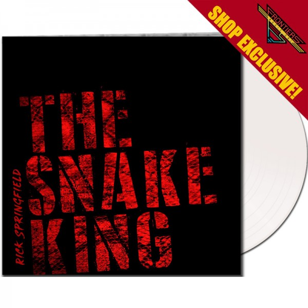 RICK SPRINGFIELD - The Snake King - LTD Gatefold WHITE Vinyl, 180 Gram - SHOP EXCLUSIVE!