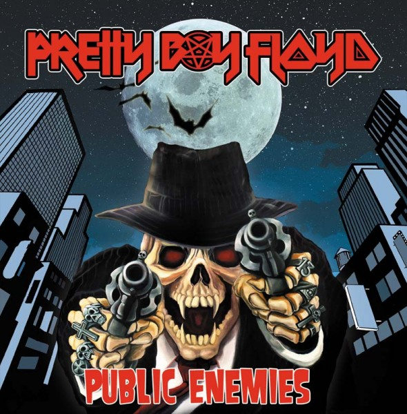 PRETTY BOY FLOYD - Public Enemies - CD Jewelcase