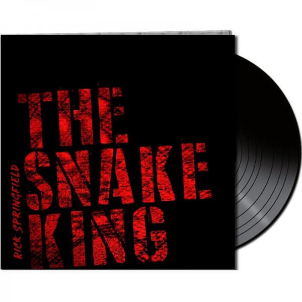 RICK SPRINGFIELD - The Snake King - LTD Gatefold Black Vinyl, 180 Gram