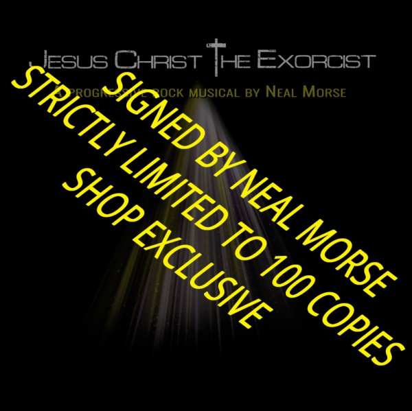 NEAL MORSE - Jesus Christ The Exorcist - 2-CD - LTD. SIGNED EDITION - SHOP EXCLUSIVE!