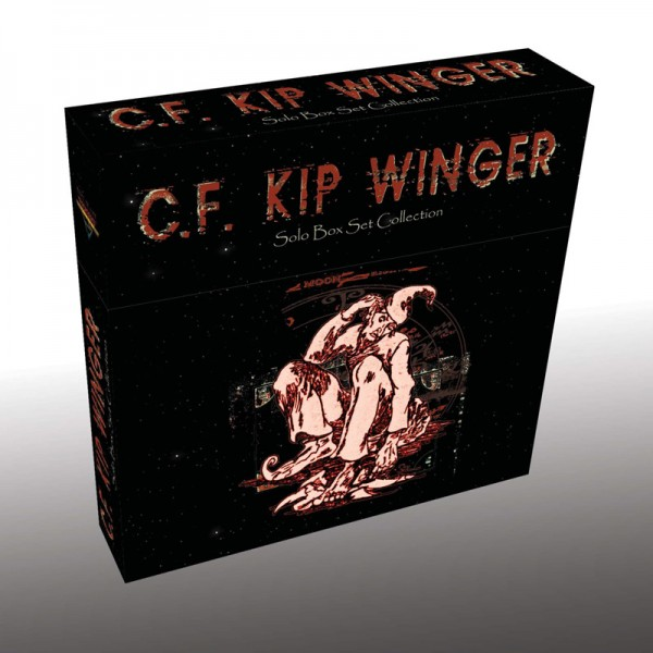 KIP WINGER - Solo Box Set Collection - 5 CD Box