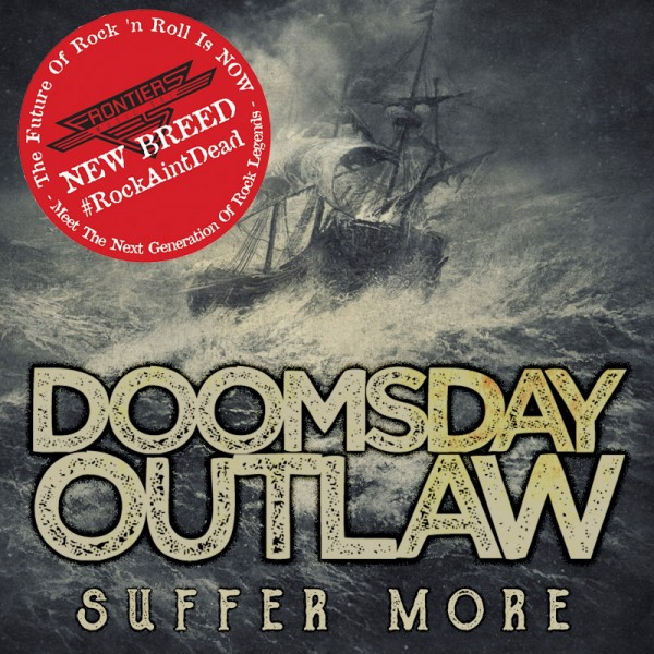DOOMSDAY OUTLAW - Suffer More 2018 - CD Jewelcase *NEW BREED*