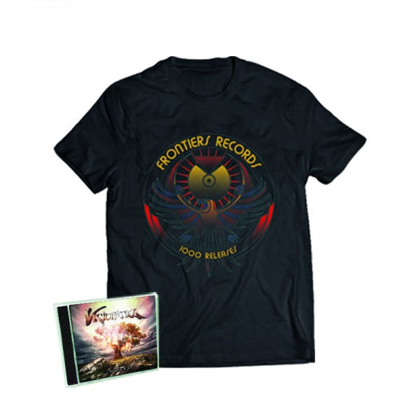 """1000 Releases"" T-Shirt + VISIONATICA - Enigma Fire - CD - Ltd.Bundle T-shirt S-XL"