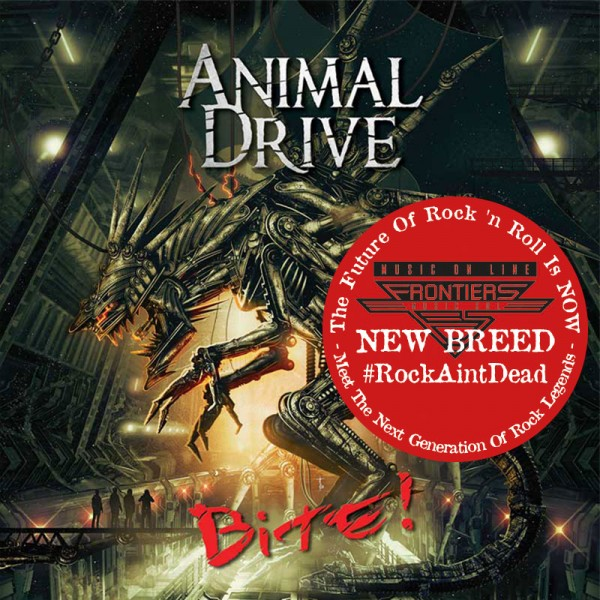 ANIMAL DRIVE - Bite! - CD Jewelcase *NEW BREED*
