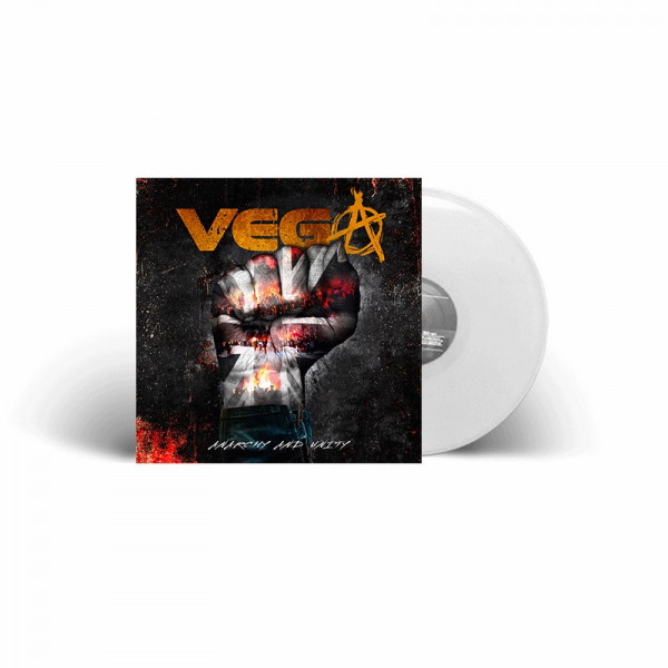 VEGA - Anarchy And Unity - Ltd. Gatefold WHITE LP