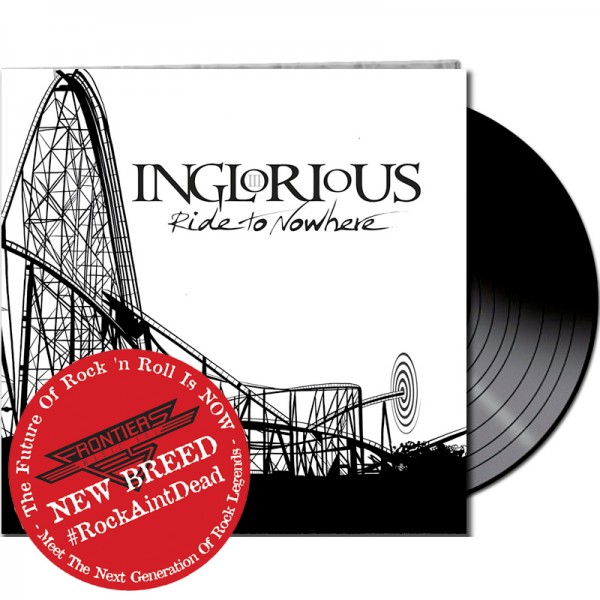 INGLORIOUS - Ride to Nowhere - LTD Gatefold Black Vinyl, 180 Gram *NEW BREED*